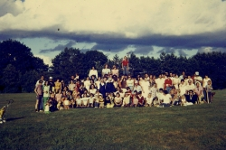 1976 First Hebert Reunion group photo