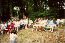 8-13-1989 - Group gathering with Aunt Rose
