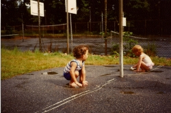 1989 - Children playing